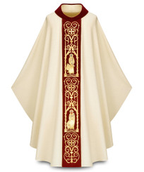 """Four Evangelists"" Gothic Chasuble in Cantate fabric"