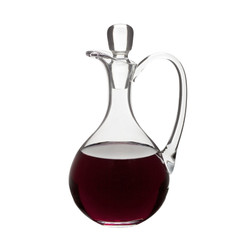 "Glass Flagon, 42oz. 11""H"