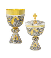 Chalice and Ciborium from Tassilo Collection