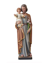 St Joseph with Child Statue 1