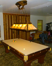 Custom Pool Table Light
