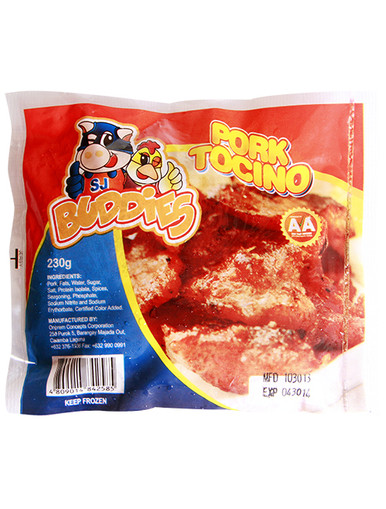 wholesale tender tocino for breakfast carinderia