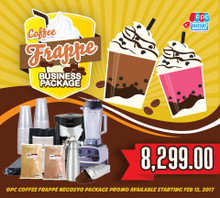 FRAPPE PROMO PACKAGE
