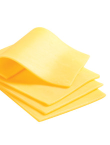 Sliced Cheese for Food service or Food cart business