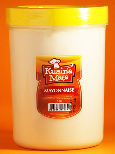 Mayonnaise for food service and food cart business
