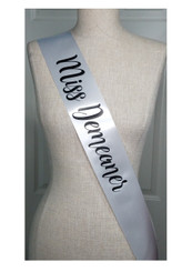 Halloween Personalized Sash