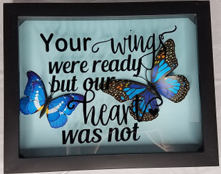 Miscarriage Memorial Box with Butterflies