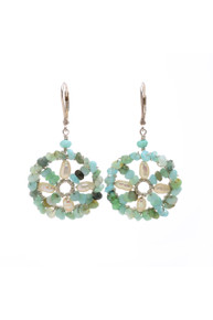 Small Sundial Earrings