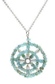 Sundial Pendant Necklace