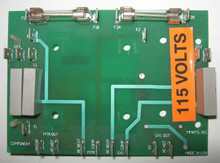 ADC stack dryer Contactor Board 115V #880771