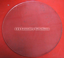 * Dryer Door Glass for 30lb Models Huebsch, M400784P