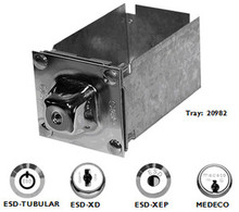 ESD MACGARD II BGW MONEY BOX WITH HIGH SECURITY LOCK MODEL NUMBER 72101-M