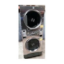 Huebsch 30lb Stack Dryer Stainless Steel DTCK9910006666 120V ( USED)