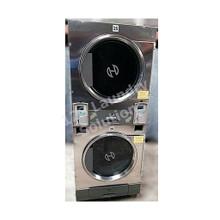 Huebsch 30lb Stack Dryer Stainless Steel 120V DTCK9910006656 ( USED)
