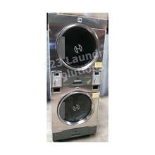 Huebsch 30lb Stack Dryer Stainless Steel 120V DTCK9910006655 (USED)