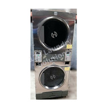 Huebsch 30lb Stack Dryer Stainless Steel 120V DTCK9910006663 (USED 27)