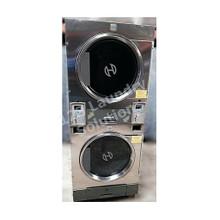 Huebsch 30lb Stack Dryer Stainless Steel 120V DTCK9910006659 (USED 3)