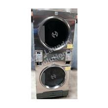 Huebsch 30lb Stack Dryer Stainless Steel 120V DTCK9910006658 (USED 11)