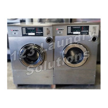 Ipso Stainless Steel, Front Load Washer 35lbs 1Ph 240v 60Hz Used