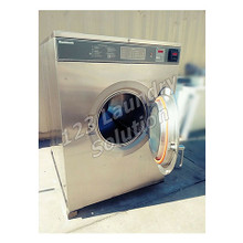 Huebsch Front Load 80 lbs Washer 208-240v Stainless Steel HC80VXVQU60001 Used