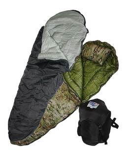 Ultima Thule (Boat Foot) › Mummy Style Sleeping Bag