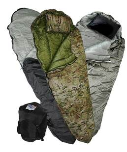 FTRSS Overbag (Boat Foot) › Mummy Style Sleeping Bag
