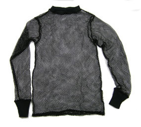 Fishnet Long Underwear Top (WHITE ONLY)
