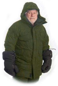 Photo of Wiggy in Olive Drab Supplex Antarctic Parka