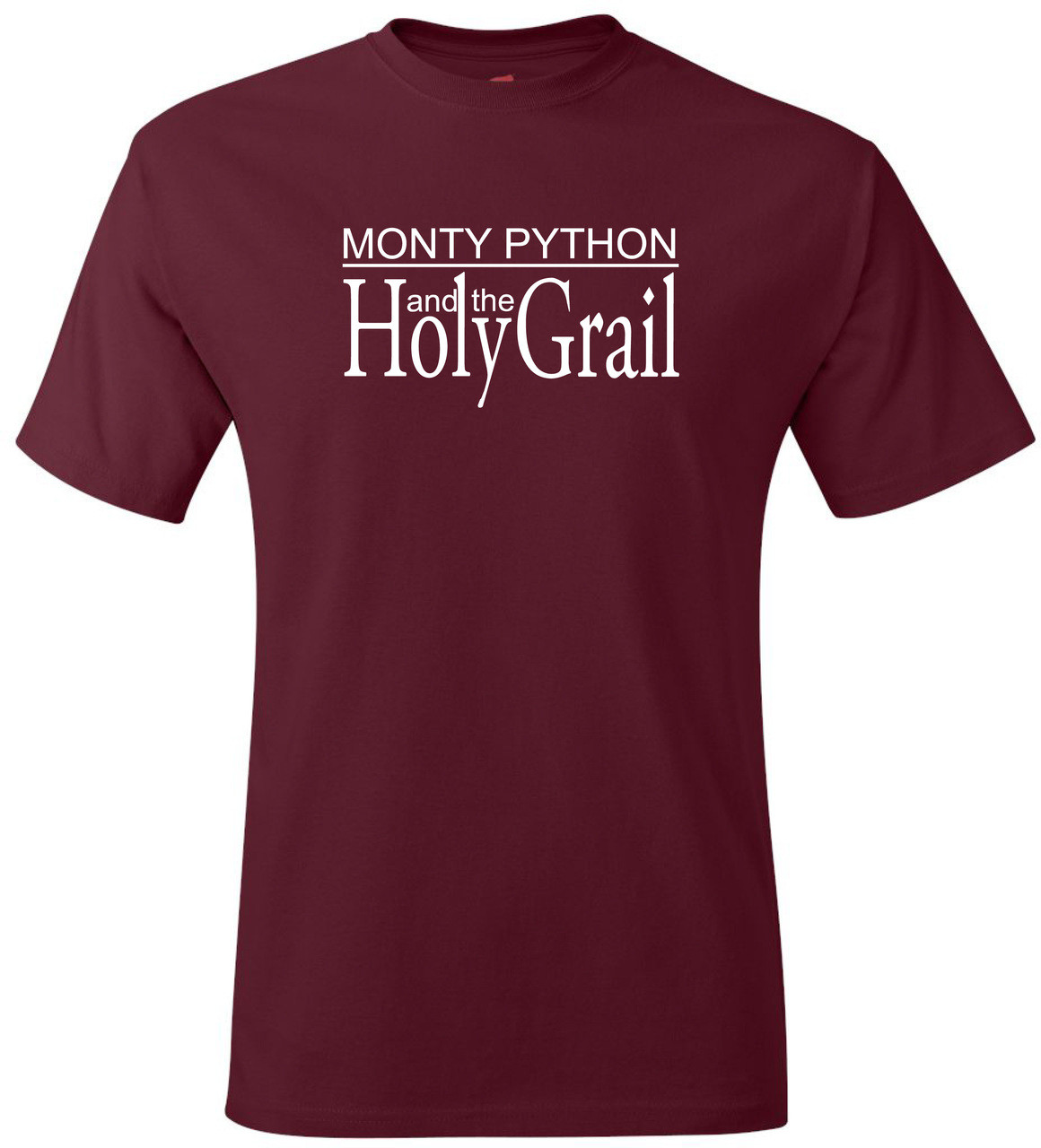 0eea507d8 Monty Python Holy Grail Logo Funny T-Shirt. $25.99 $13.99. (You save  $12.00). Cardinal Red