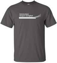 Air Inter Europe French Airline Logo Tshirt