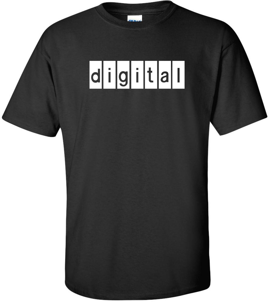 300ccdeb Digital Equipment Corp Retro Logo T-Shirt. $25.99 $13.99. (You save  $12.00). Black