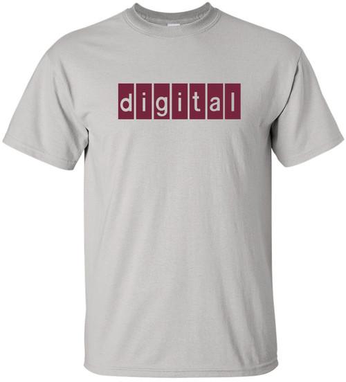ce1375b1 Digital Equipment Corp Retro Logo T-Shirt - Interspace180