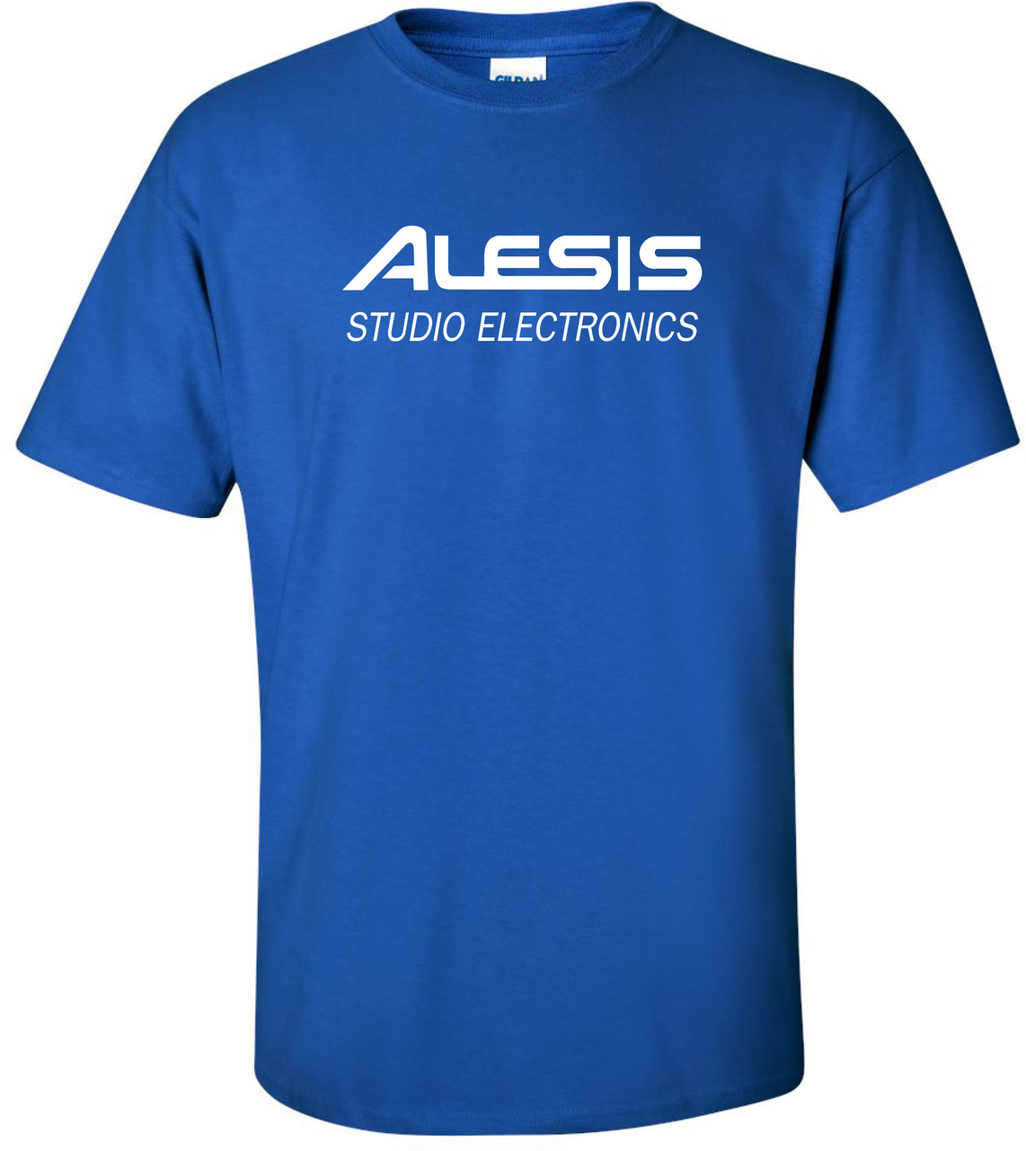 Electronic Blue T Shirt Great Installation Of Wiring Diagram Short Circuit Tshirts Zazzle Alesis Studio Electronics Vintage Logo Interspace180 Rh Com Sheet Technology