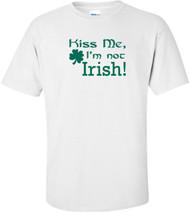 Kiss Me Im Irish Sweatshirt Orange Funny Humor