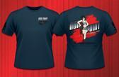 Gun Point Girl - SPWS Logo Shirt (Dusk Blue)