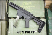 "Gun Point Custom 5.5"" Avenger  GEN2 9mm AR Pistol with Life Time Warranty !!"