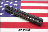 "KAC 14.5"" URX 4 KEYMOD AR15 RAIL KIT WITH RAIL COVERS"