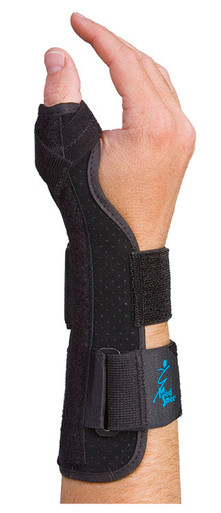 SUEDE THUMB SUPPORT LONG OR SHORT