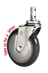 "R&B 5"" Mega Caster cart wheels"
