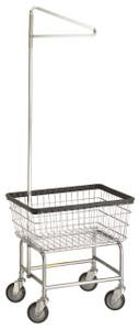 R&B #100E:  Laundry Cart w/single pole hanger
