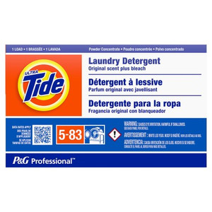 Tide with Bleach Powder Laundry Detergent - Coin Vend