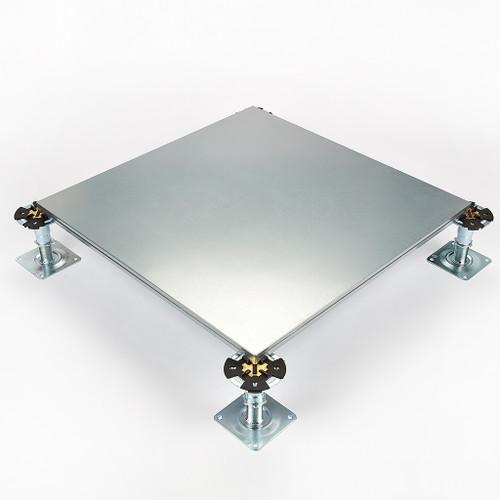 Metalfloor MFP.003 / 600 mm x 600 mm x 26 mm - BSEN12825 Grade 3 Steel Encapsulated Access Floor Panel