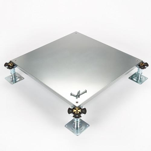 Metalfloor MFP.006/SD - 600 mm x 600 mm x 31 mm - PSA Heavy Grade Screw-Down Steel Encapsulated Access Floor Panel