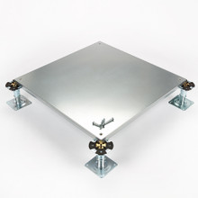 Metalfloor MFP.006/SD - 600 mm x 600 mm x 31 mm - PSA Heavy Grade Screw-Down Steel Encapsulated Access Floor Panel