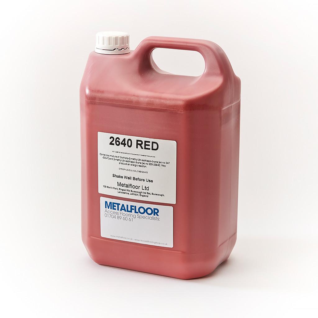 Pva Floor Sealer 5ltr Red Water Based