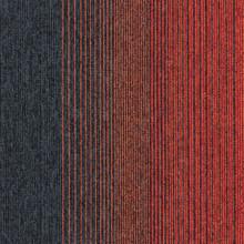 Interface Employ Lines Sunset 50cm x 50cm Carpet Tiles 5m2 20 Tiles