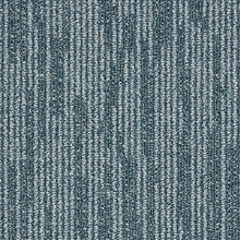 Interface Works Balance Teal 25cm x 100cm Carpet Tiles 5m2 20 Tiles