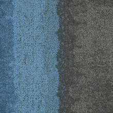 Interface Composure Edge Sapphire - Diffuse 50x50cm Carpet Tiles 4m2 16 Tiles