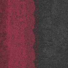 Interface Composure Edge Berry - Solitude 50x50cm Carpet Tiles 4m2 16 Tiles
