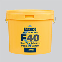 Styccobond F40 High Tack Adhesive - Dual Bond System 15 LITRE